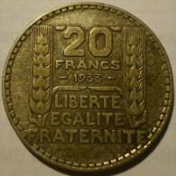 20 FRANCS TURIN 1933 (1) - France