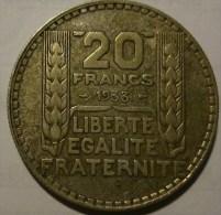 20 FRANCS TURIN 1933 (2) - France