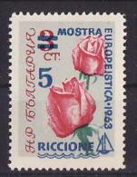 42-988 // BG - 1963  STAMPS EXHIBITION  RICCIONE    Mi  1392 ** - Nuevos