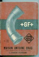 Catalogue Maison Antoine Baud Clermont Ferrand - Advertising