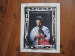 Affiche Du Guitariste Marcel Dadi, Le Maître Incontesté Dans Son Art, Le + Réputé En France Dans Les Années 70 - Affiches