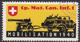 Timbre Militaire Suisse - Timbre Du Soldat - Poste Militaire