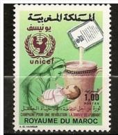 MAROCCO - 1987  Children Health   Mi. 1117 Serie Cpl. 1v. Nuovi**  Perfetti                . - Maroc (1956-...)