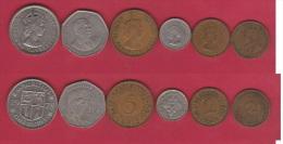 MAURITIUS //    Lot De 6 Monnaies - Mauritius