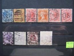 Timbres Australie : Victoria 1880 - 1900 - 1860-1909 Queensland