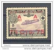 ES388-LA481TESSC.Espain. Espagne. ANIVERSARIO.JURA CONSTITUCION  POR ALFONSO XIII  1927 (Ed 388**) LUJO - Sin Clasificación