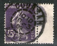N° 142°_COURSAN_foncé Inter-marge_10/3/1909 - 1906-38 Säerin, Untergrund Glatt