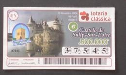 PORTUGAL        LOTARIA CLASSICA  - 46ª 13-11-2006  -  2 Scans  (Nº04870) - Billets De Loterie