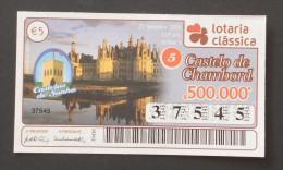 PORTUGAL        LOTARIA CLASSICA  - 39ª 25-09-2006  -  2 Scans  (Nº04876) - Billets De Loterie
