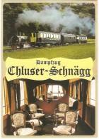 TRAIN Suisse - EISENBAHN Schweiz - OENSINGEN BALSTHAL - Locomotive-vapeur 1, Salonwagen As 411, 412 Und Speisewagen 402 - Trains