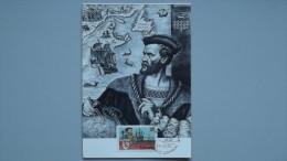 Kanada 905 Yt 869 Maximumkarte MK/MC, ESST, 450. Jahrestag Der Ersten Reise Von Jacques Cartier Nach Kanada. - Maximum Cards