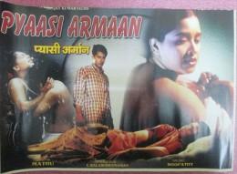 Erotic Erotica, Vintage Lobby Card, Cinema, Erotic Movie India Inde Indien - Posters