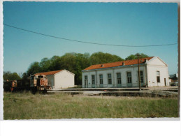 CPM - Gare De GRAY - Mai 1992 - Gares - Avec Trains