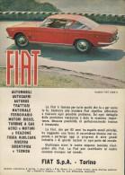 # FIAT 2300S Car 1960s Italy Advert Pub Pubblicità Reklame Auto Voiture Coche Carro Torino - Voitures