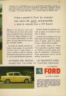 # FORD ANGLIA 1960s Car Italy Advert Pub Pubblicità Reklame Auto Voiture Coche Carro - Cars