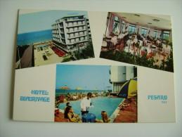HOTEL  BEAURIVAGE   PESARO MARCHE   NON VIAGGIATA CONDIZIONI FOTO - Hotels & Restaurants