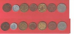 ALLEMAGNE    //  Lot De 7 Monnaies //  Toute époque - [11] Collections