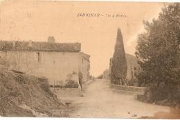 Village De LEDIGNAN -  Les 4 Quatre Routes - Brunel éditeur 1909 - France