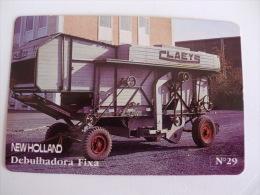 Ford Lusitana, SARL Harvester Fixe Newholland Portugal Portuguese Pocket Calendar 1987 - Small : 1981-90