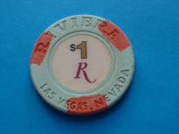 JETON  CASINO  USA  1 $ - Casino