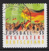 Duitsland - Fußball Begeistert Deutschland - Gebruikt/gebraucht/used - Michel 2936 - Gebraucht