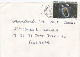 Cameroon Cameroun 1985 Douala Space Intelsat V Satellitte Cover - Brieven & Documenten