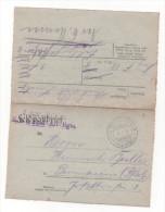 Lot 839: Feldpostbrief Oblit. Feld Poststation N°3 Der 6° Armée Du 19.01.1916 - Besetzungen 1914-18