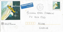 France 2007 Paris 09 Space Earth PAP Postage Paid Cover - Brieven & Documenten