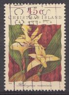 CHRISTMAS ISLAND Mi.nr.401 Orchideen 1994 OBLITÉRÉS / USED / GESTEMPELD - Christmas Island
