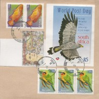 SOUTH AFRICA, Birds, Used Mixture On Piece - Vogels