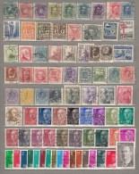 SPAIN ESPANA Old Used Gestempelt (o) Stamps Lot #17322 - Espagne