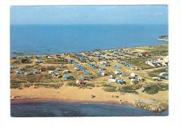 CSM :85 - Vendée - Ile De Noirmoutier :  L'Herbaudière - Terrain De Camping : Vue Aérienne : Camping , Mer .... - Ile De Noirmoutier
