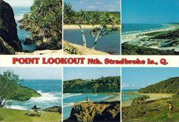 1 AK ** North Stradbroke Island ** Ansichten Dieser Insel U.a. The George, Cylinder Beach, Blue Lake Beach, The Lookout - Australia