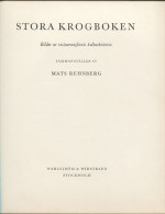 Mats REHNBERG - Stora Krogboken - Bilder Ur Restaurantglivets Kulturhistoria - Scandinavian Languages