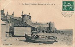 LE CROTOY - La Tour Et Le Feu De Marée - Le Crotoy