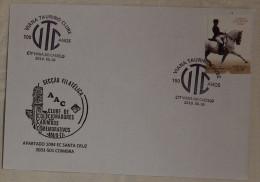 Portugal - Viana Do Castelo Taurean Club 100 Years - Taurino - 2010 - Horse Stamp - Zonder Classificatie