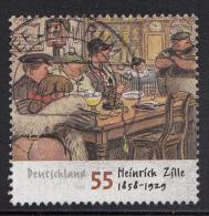 Duitsland - 150 Geburtstag Von Heinrich Zille  - Gebruikt/gebraucht/used - Michel 2640 - Gebruikt