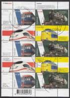 Nederland - Treinen - Gebruikt/gebraucht/used - NVPH V2366-2369 - Periode 1980-... (Beatrix)
