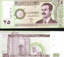 Iraq #86, 25 Dinars, 2001, UNC - Irak