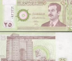 Iraq #86-E, 25 Dinars, 2001, UNC - Irak