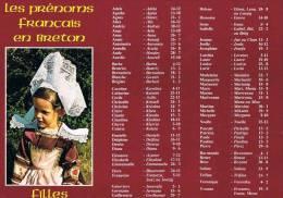LES PRENOMS FRANçAIS EN BRETON Filles - Bretagne