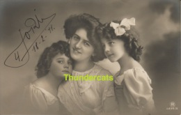RPPC REAL PHOTO POSTCARD BEAUTIFUL EDWARDIAN GIRL ** CPA TRES JOLIE PETITE FILLE - Portraits