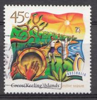 COCOS-ISLANDS  Mi.nr.354 Weihnachten 1997  OBLITÉRÉS / USED / GESTEMPELD - Cocos (Keeling) Islands