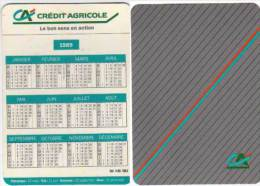 Calendrier Du Credit Agrcole 1989  (63435) - Calendriers