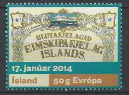 Islande 2014, N°1341 Neuf. Compagnie Maritime - Ungebraucht