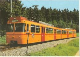 """TRAIN Suisse - EISENBAHN Schweiz - SIHLTAL ZÜRICH UETLIBERG - Lokomotive """"Uitikon"""" Be 8/8 N° 32 - Autorail, Tramway - Trains"""