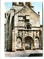 CP - FRONTENAY ROHAN ROHAN (79) La Facade L 'église Romane - Frontenay-Rohan-Rohan