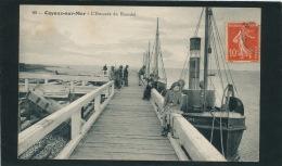 CAYEUX SUR MER - L'Estacade Du Hourdel (animation - Bateau ) - Cayeux Sur Mer