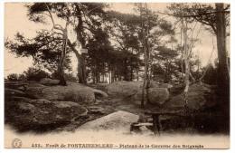 CP, 77, FONTAINEBLEAU, Forêt De FONTAINEBLEAU, Plateau De La Caverne Des Brigands, Vierge - Fontainebleau