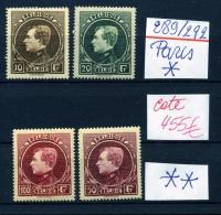 Grand Montenez PARIS  Cote 2014 =  490 €  Tous Neufs - 1929-1941 Grand Montenez